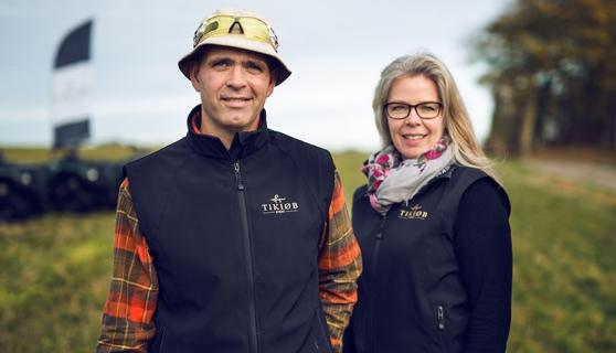Jesper Tikiøb & Majbritt Mortensen - Tikiøb Event