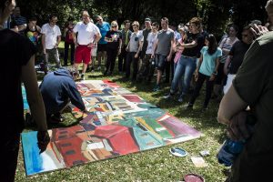 Masser af plads på Ebbestrup til vores populære maleri-event