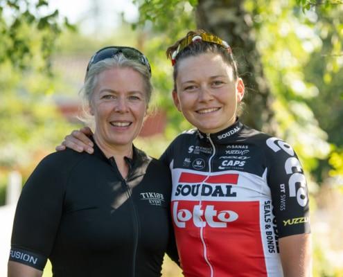 Majbritt & Christinas cykelklub Instagram